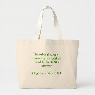 Go Organic Jumbo Tote Bag
