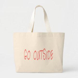 Go Outside Jumbo Tote Bag