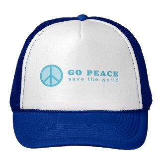 Go Peace (Blue) Hats