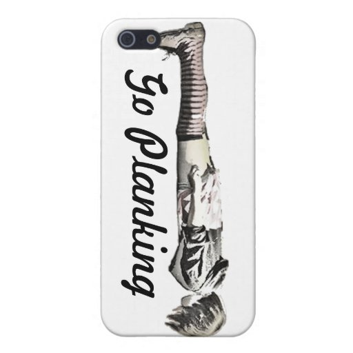 Go Planking Pujie Girl Case For iPhone 5