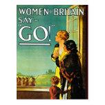 GO! - Postcard