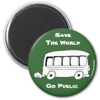 Go Public Cartoon Fridge Magnet 1