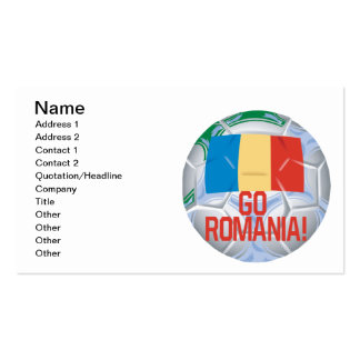 Go Romania Pack Of Standard Business Cards