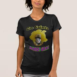 Go Saints Mardi Gras T-Shirt
