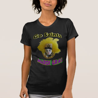 Go Saints Mardi Gras T-shirts