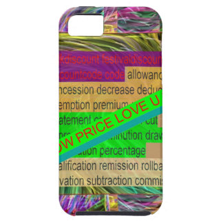 Go SHOPPING Wear a LOW PRICE tag SHIRT BUTTON iPhone 5 Cover