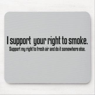 Go smoke somewhere else mouse pad