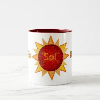 Go Solar Two-Tone Coffee Mug