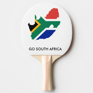 GO SOUTH AFRICA PING PONG PADDLE