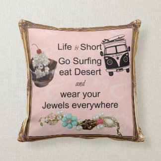 Go surfing! cushion