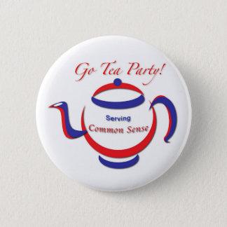 Go Tea Party! Button