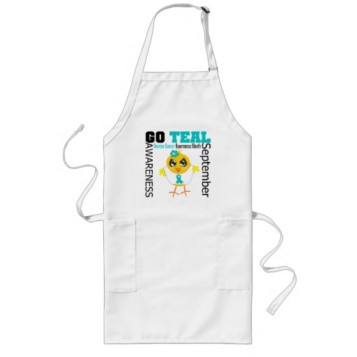 Go Teal For Ovarian Cancer Awareness Month Apron