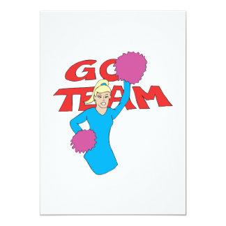 Go Team 3 Personalized Invite