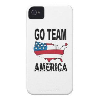 Go Team America Case-Mate iPhone 4 Cases