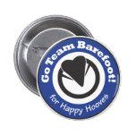 Go Team Barefoot! Button