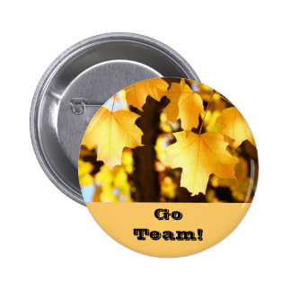 Go Team buttons Promotional Cheering button Sport