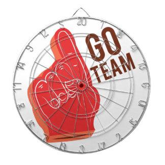 Go team dart boards