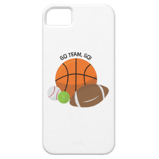 Go Team Go iPhone 5 Covers