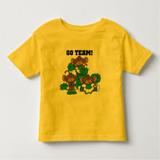 Go Team Green and White T-shirts and Gifts