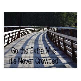 Go the Extra Mile... Trestle Postcard