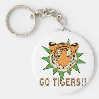 Go Tigers Key Chain
