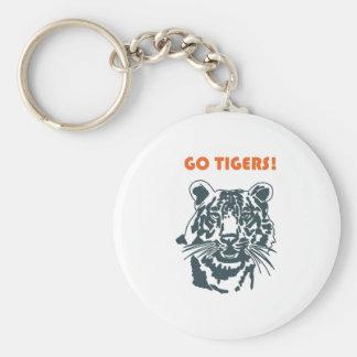 GO TIGERS! KEYCHAIN