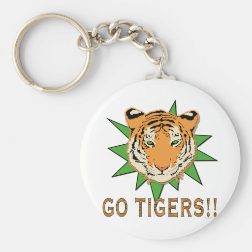 Go Tigers Key Chains