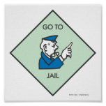 Go to Jail - Corner Square Posters
