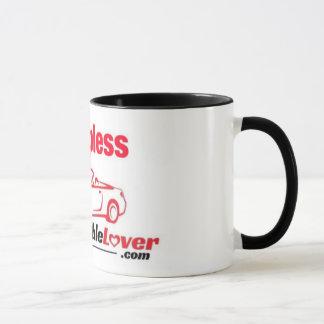 GO TOPLESS ConvertibleLover.com coffee mug