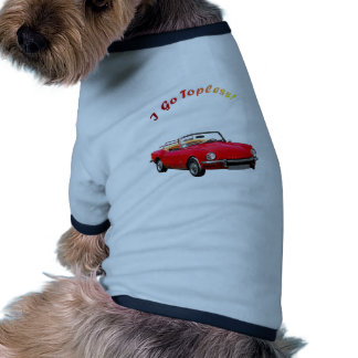 Go Topless Dog Clothing