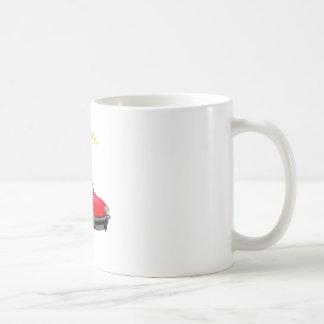 Go Topless Basic White Mug