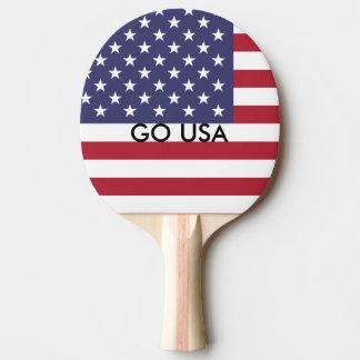 GO USA PING PONG PADDLE