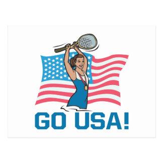 Go USA Postcard