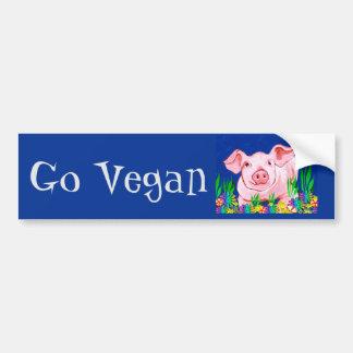 Go Vegan Bumper Sticker