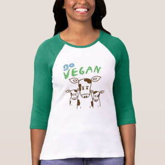 GO VEGAN - Calves 01 T Shirts