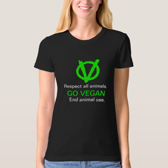 GO VEGAN! Display the Vegan Revolution logo! T-Shirt