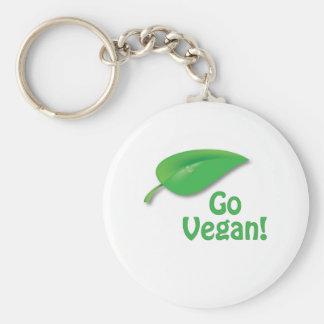 Go Vegan Key Chains