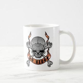 Go Vegan Skull Mug