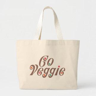 Go Veggie Canvas Bag