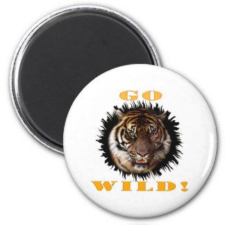 Go Wild Tiger Magnet