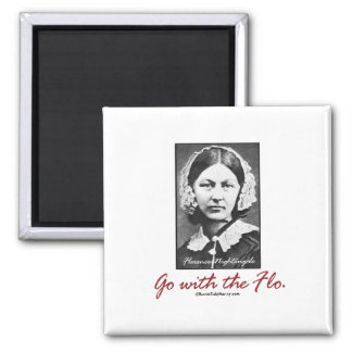 Go with Florence Nightingale Magnet