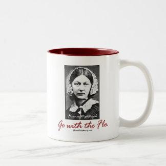 Go with Florence Nightingale Two-Tone Mug