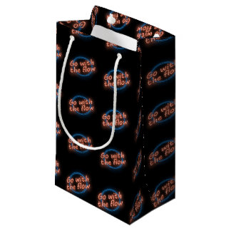 Go with the flow. small gift bag