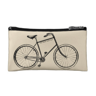 Go your own way cosmetic bag