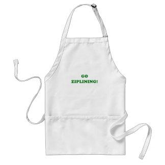 Go Ziplining Standard Apron