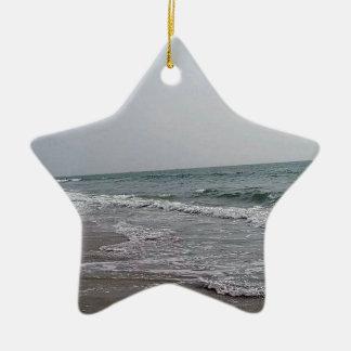 Goa Beach India Ceramic Star Decoration