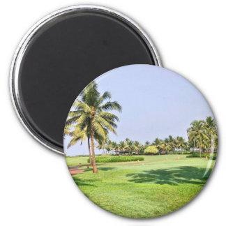Goa India 2 6 Cm Round Magnet