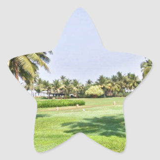 Goa India 2 Star Sticker
