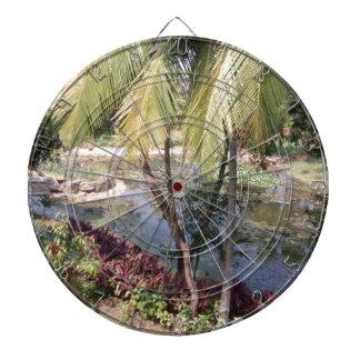 Goa India Garden Dartboard With Darts
