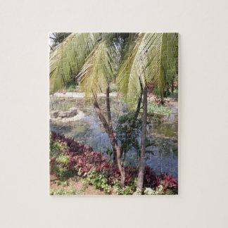 Goa India Garden Jigsaw Puzzle